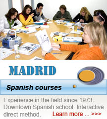 Spanish courses in Madrid